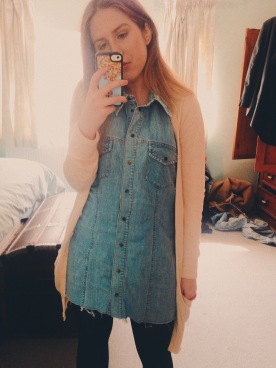 Denim dress - Vintage shop