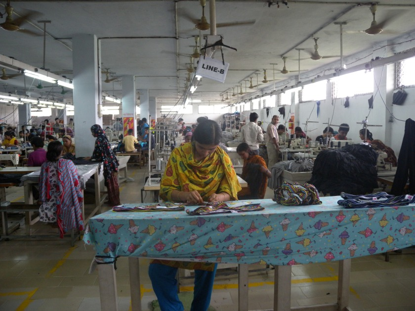 Factory in Bangladesh