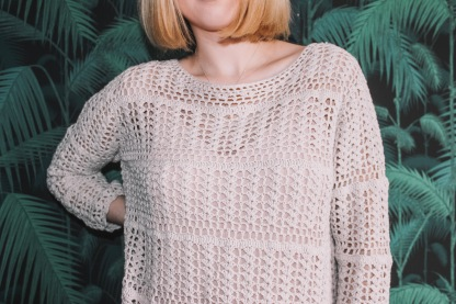 This crochet jumper was £4